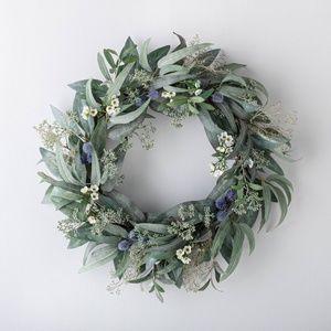 Threshold Studio McGee Eucalyptus Berries Wreath